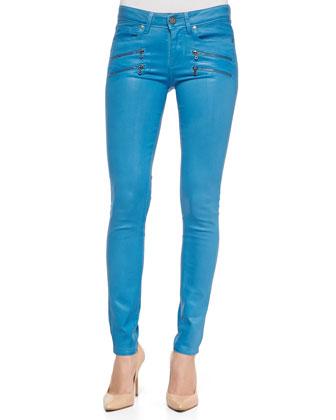 Edgemont Ultra-Skinny Zipper Jeans