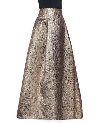 Margarete Metallic Ball Skirt