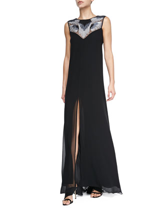 Luciele Sleeveless Maxi Dress