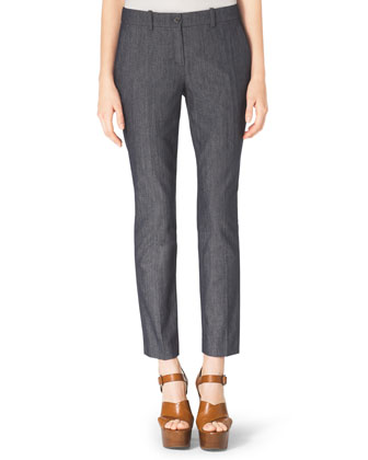 Samantha Skinny Denim Pants, Indigo