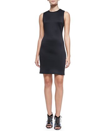 Laser-Cut Fitted Neoprene Dress