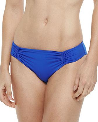 Chloe Sensual Solids Wrap Swim Top & Estella Sensual Solids Swim Bottom, ...