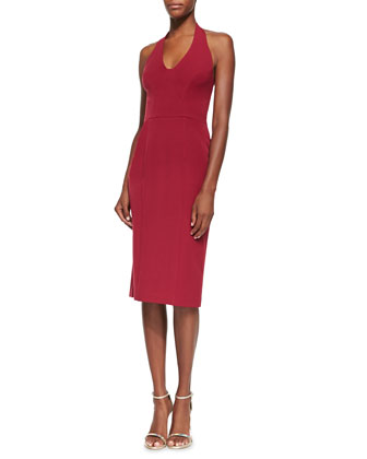 Nichole Halter-Neck Dress