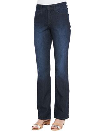 Barbara Boot-Cut Classic Jeans, Petite