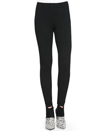 Muriel Printed Sleeveless Surplice Top & Skinny Minnie Pull-On Pants