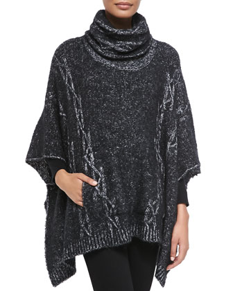 Theodora Cable Poncho