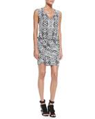 Spirit Sleeveless Blouson-Top Dress