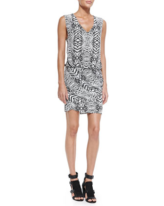 Spirit Sleeveless Blouson-Top Dress