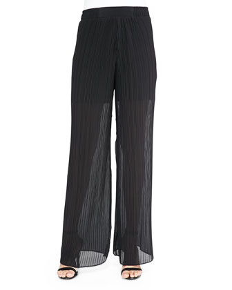 Ferris Wheel Wide-Leg Pants