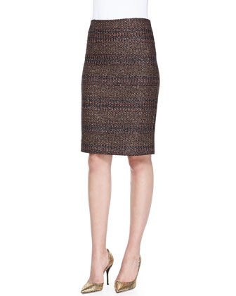 Tumbler Woven Pencil Skirt