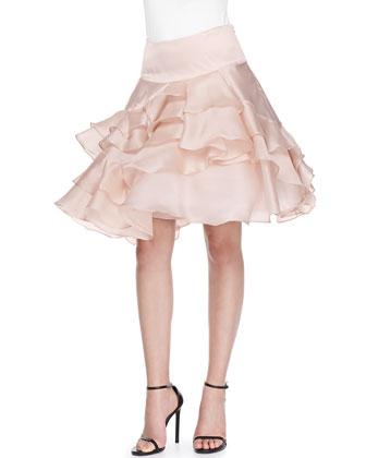 Tara Tiered Ruffle Skirt