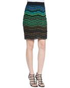 Ripple Knit Skirt