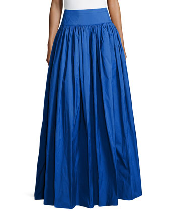 Satin Ball Skirt, Royal