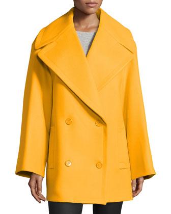Oversized Pea Coat, Taxicab