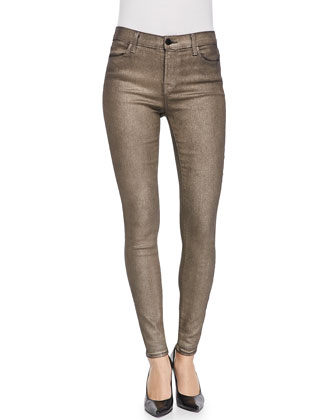 620 Gold Dust Mid-Rise Super Skinny Jeans