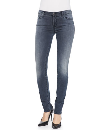 Kmaila Crush Zip-Back Skinny Jeans