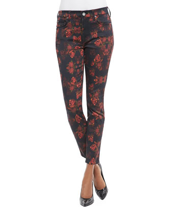Rough Roses Skinny Jeans