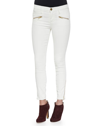 The Soho Zipper Stiletto Jeans