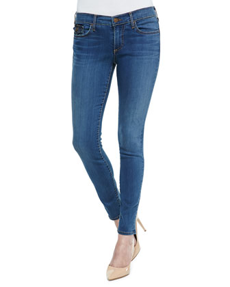 Halle Skinny Jeans W/ Button Flaps, Love No Less