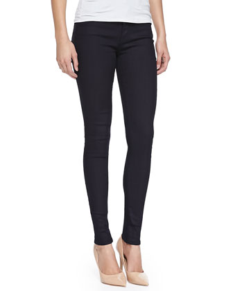 Halle High-Rise Super Skinny Jeans, Rinse
