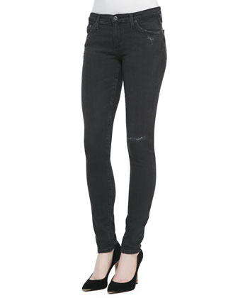Super-Skinny Distressed Leggings, 3 Years Valor