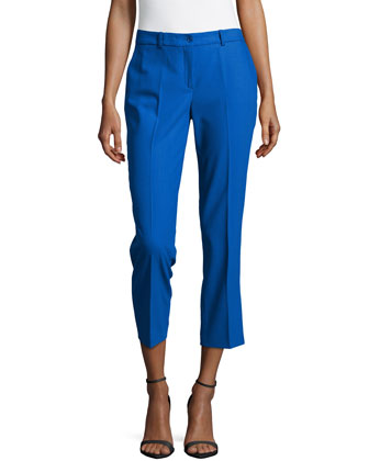 Samantha Cropped Skinny Pants, Royal