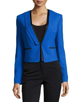 Short Tuxedo Jacket, Royal