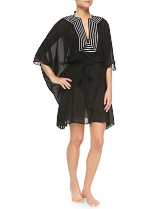 Ladylike Luxe Caftan Coverup