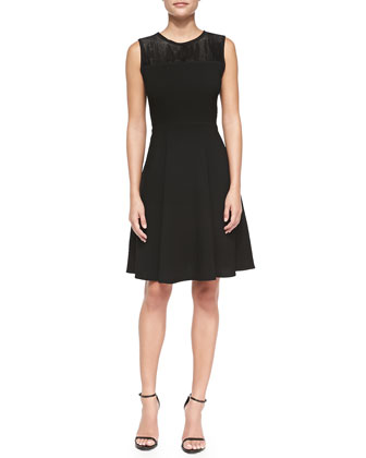 Ophelia Sleeveless A-line Dress