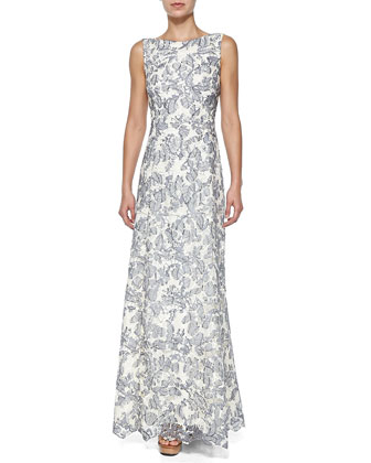 Skye Embroidered Gown