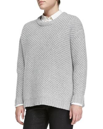 Nora Merino Crewneck Sweater