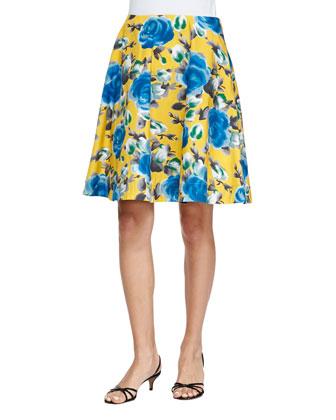Jerrie Rose Circle Skirt