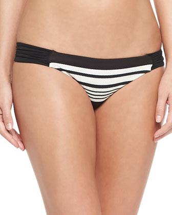 Sirena Wrap Halter Top & Antibes Ruch-Side Swim Bottom
