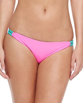 Bondi Two-Tone Reversible Bikini Top & Swim Bottom