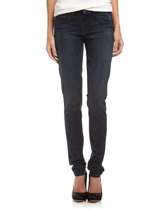 360 Skinny Pull-On Jeans, Medium Wash