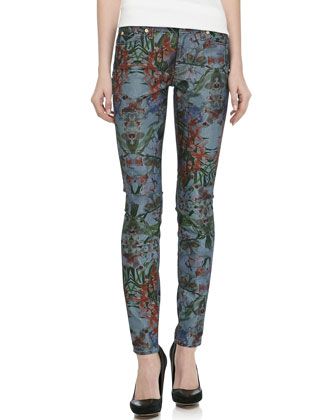 Gwenevere Super Skinny Jeans, Tropical
