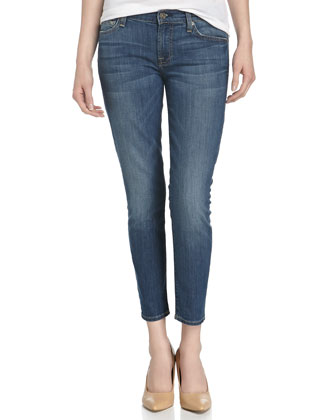 Gwenevere Cropped Ankle Jeans
