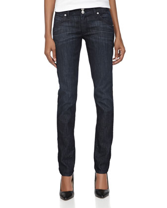 Hudson Skinny Stretch Jeans, Moonlight