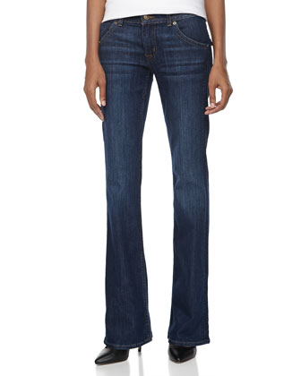 Hudson Signature Boot Cut Jeans, Cambria