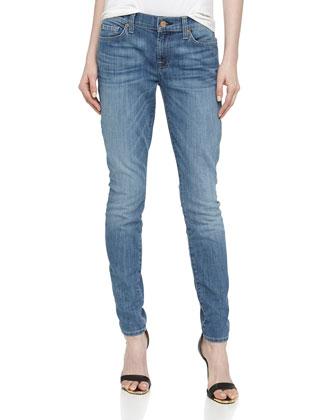 Gwenevere Skinny Jeans, Peasant Street Indigo