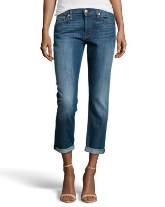 Josefina Boyfriend Jeans, Rich Authentic Indigo
