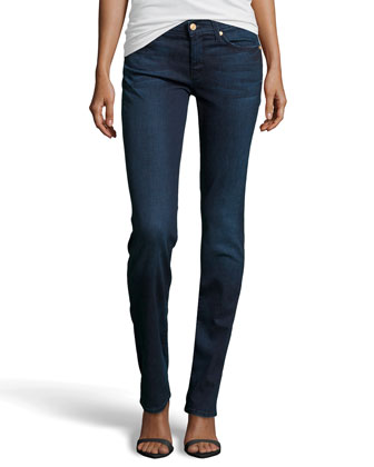 Straight-Leg 5-Pocket Jeans, Corwin Medium Blue