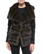 Sable/Lamb Fur Jacket