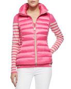 Allie Zip Puffer Vest