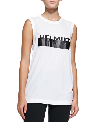 Logo Muscle Tee & Reflex Full-Length Lightweight Leggings