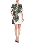 Goby Boxy Leaf-Print Dress