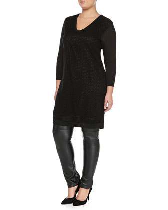 Grace Crochet Knit Tunic/Dress, Women's