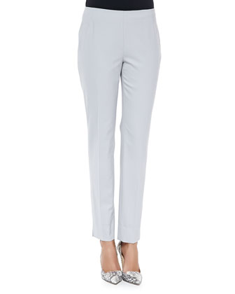 Stanton Cropped Wool Pants, Sterling