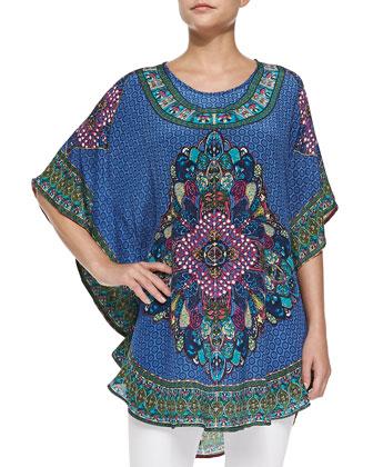 Narissa Printed Flutter Tunic, Women's