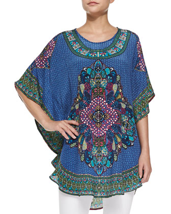 Narissa Printed Flutter Tunic
